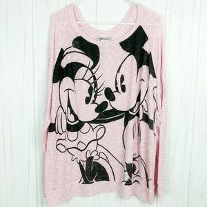 Disney PARKS Burnout Lightweight Sheer Sweater 3x